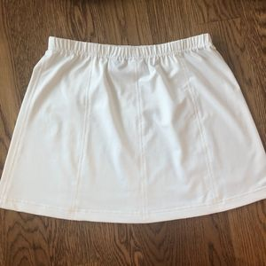 bolle Skirts - Bolle Sport Large White Stretch Tennis Skirt